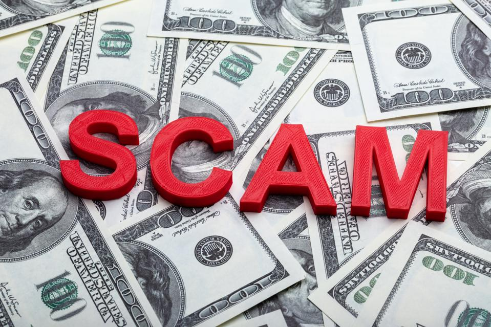 Word Scam On Hundred Dollar Bills