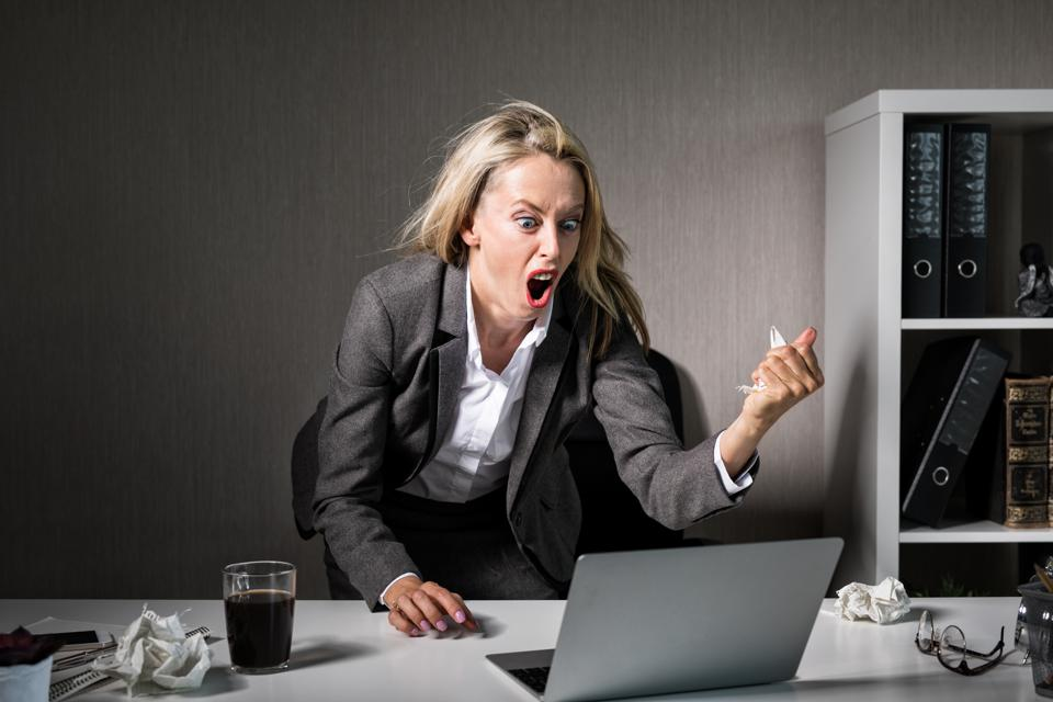 Job stress will always be with us, but there are tools to handle hair trigger reactions when things fall apart.