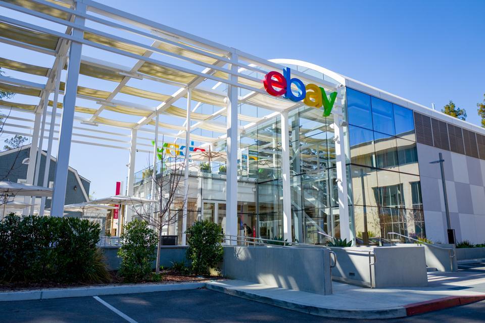 eBay HQ in the Silicon Valley, San Jose, California.