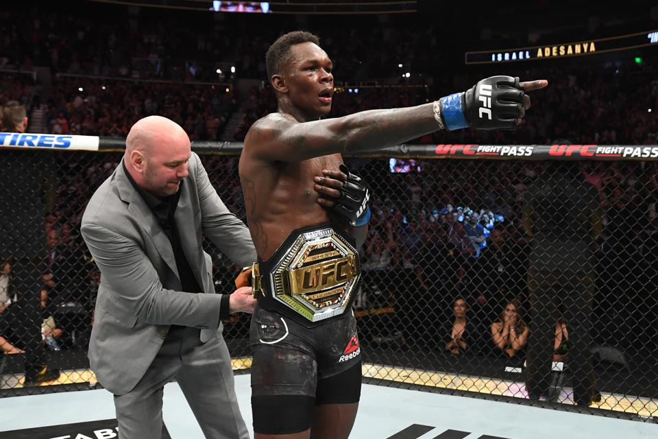 UFC 253 Full Fight Video: Watch Israel Adesanya Win The Interim  Middleweight Title