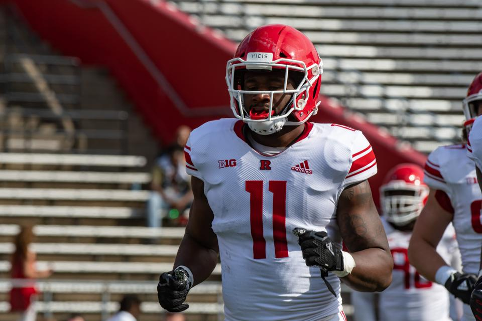 COLLEGE FOOTBALL: APR 13 Rutgers Spring Game
