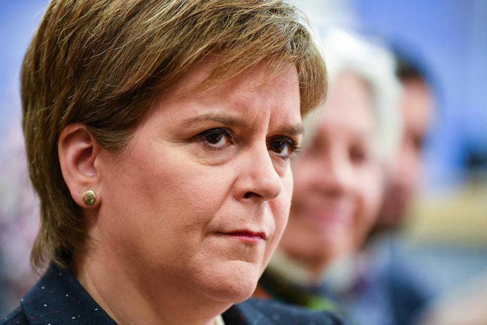 Scotland's First Minister Nicola Sturgeon fights to keep Scotland aligned with the European Union.