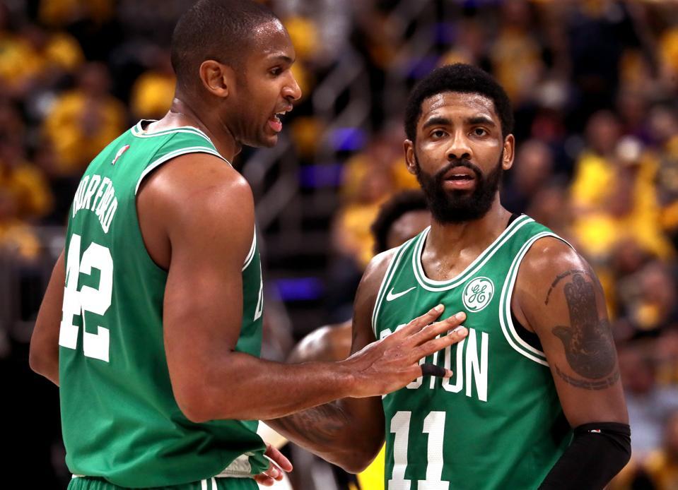 Al Horford Kyrie Irving Boston Celtics
