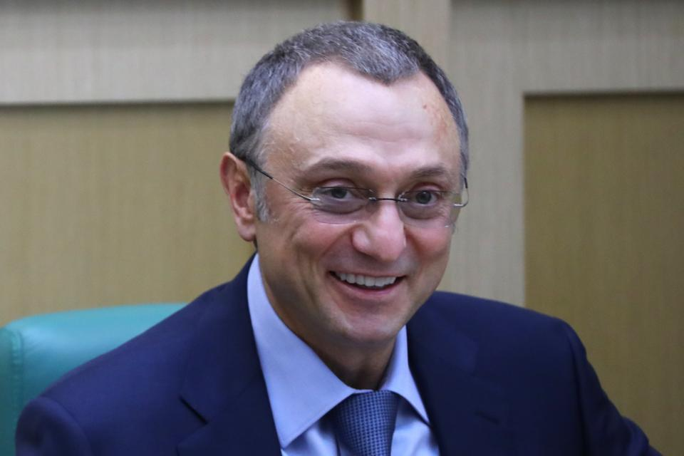Suleiman Kerimov at the Russian Federation Council in Moscow, Russia.
