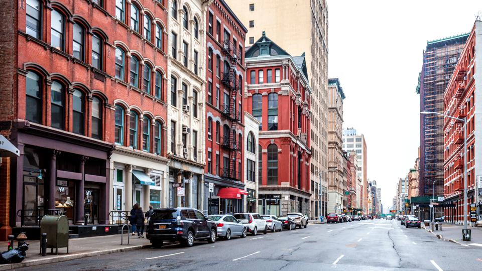 Streets of Tribeca - Manhattan, New York