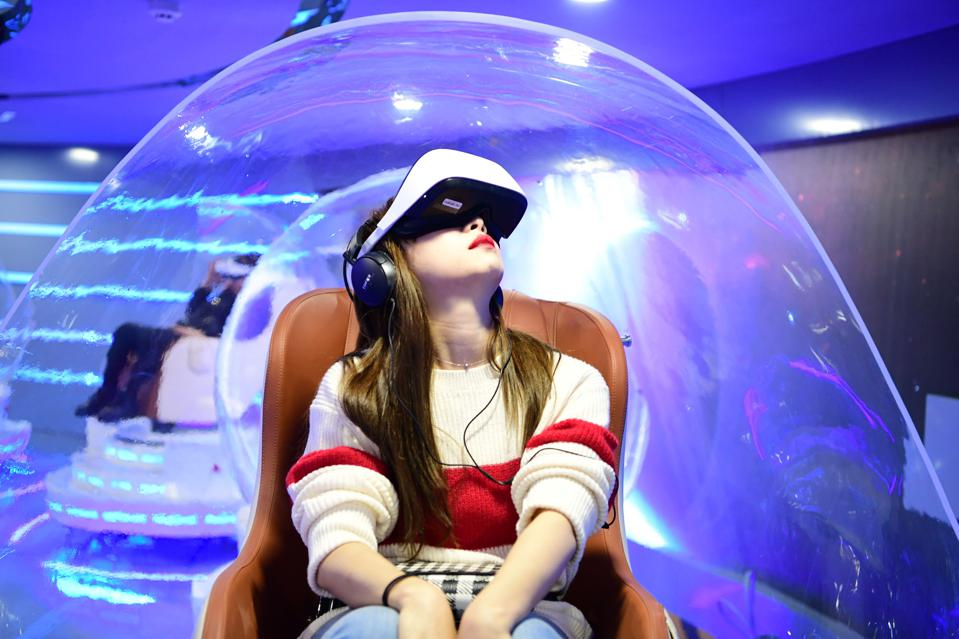 VR Cinema Opens In Beijing