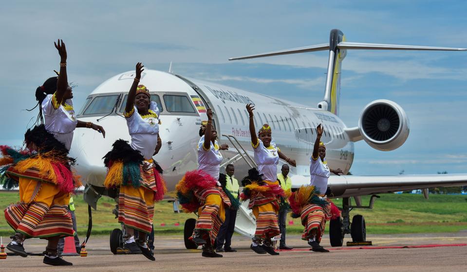 UGANDA-ECONOMY-AVIATION