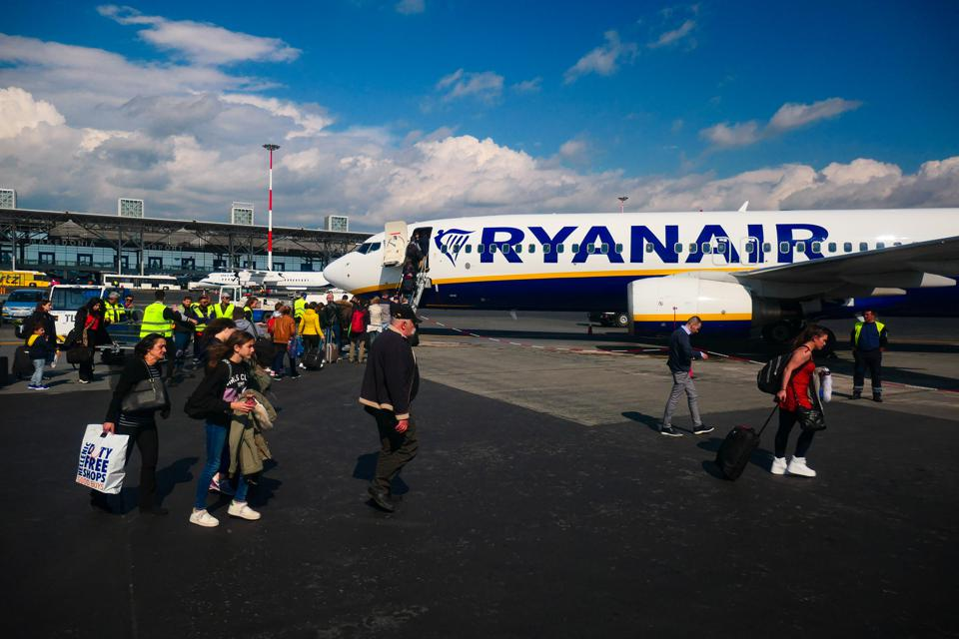 The Ryanair Airplane