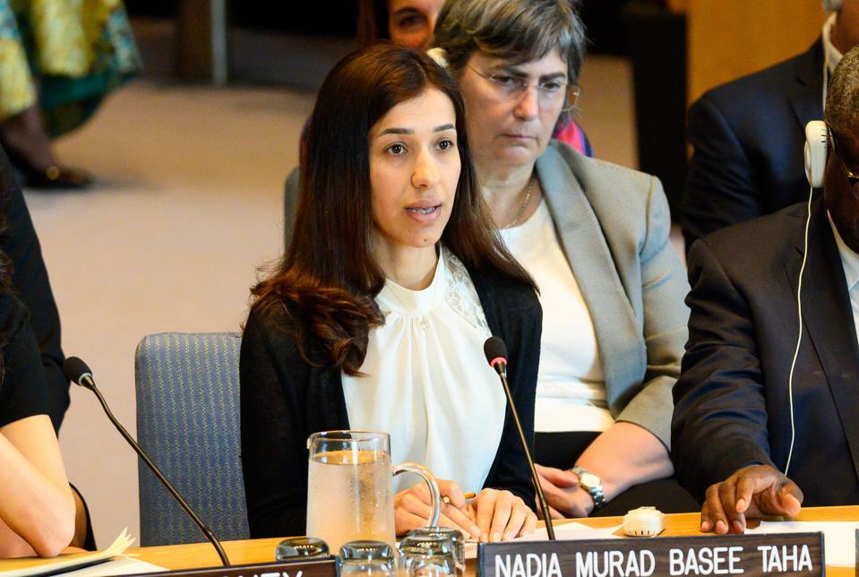 Nadia Murad Basee Taha (aka Nadia Murad), Iraqi Yazidi human...