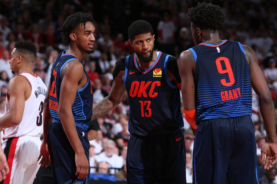 Oklahoma City Thunder v Portland Trail Blazers - Game Five