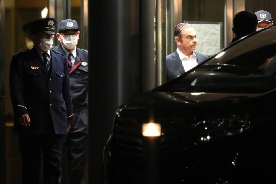 JAPAN-France-NISSAN-Renault-AUTOMOBILE-Ghosn