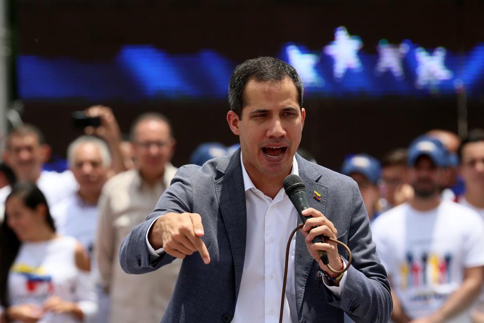 Guaidó Rally in Caracas