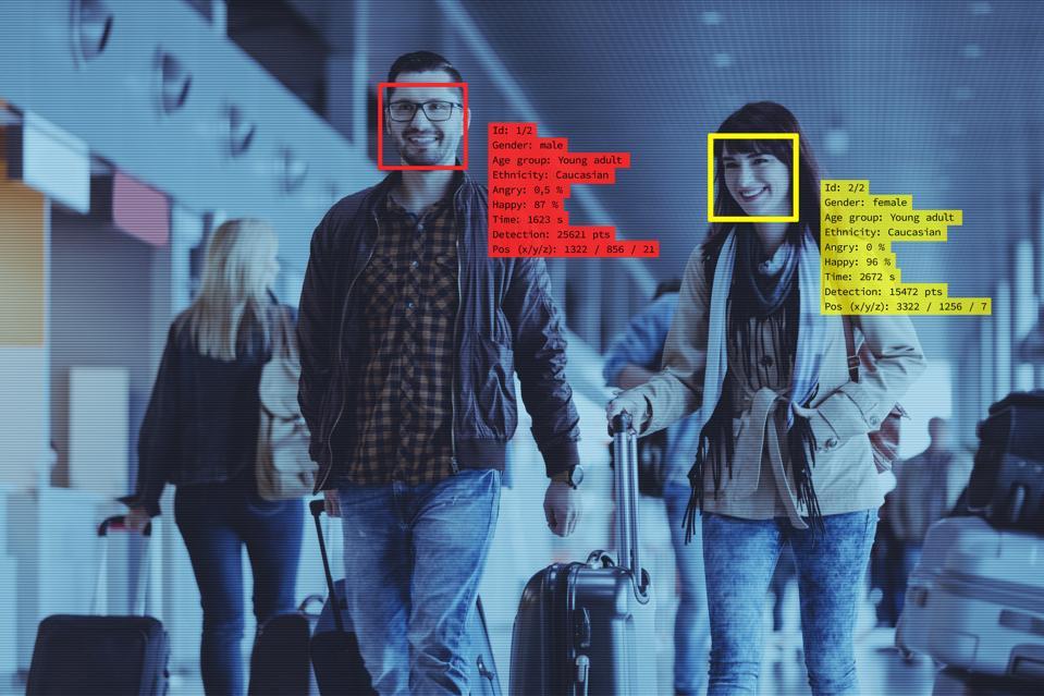 Näotuvastustehnoloogia lennujaamas