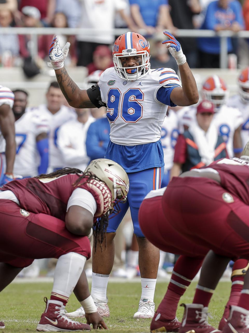 The Florida Gators face off against longtime rival Florida State Seminoles at Doak Campbell Stadium.