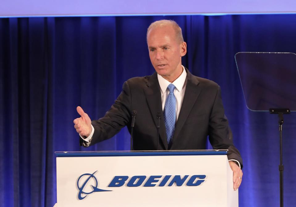 Boeing Holds Annual Shareholders Meeting In Chicago