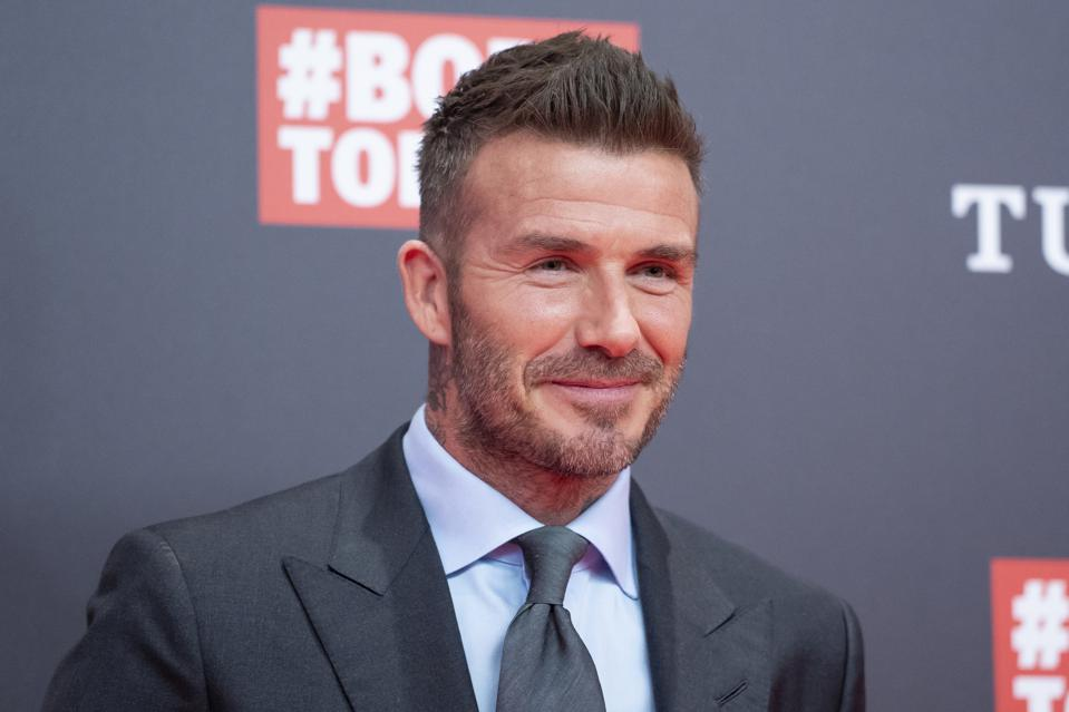David Beckham Presents Tudor New Collection In Madrid