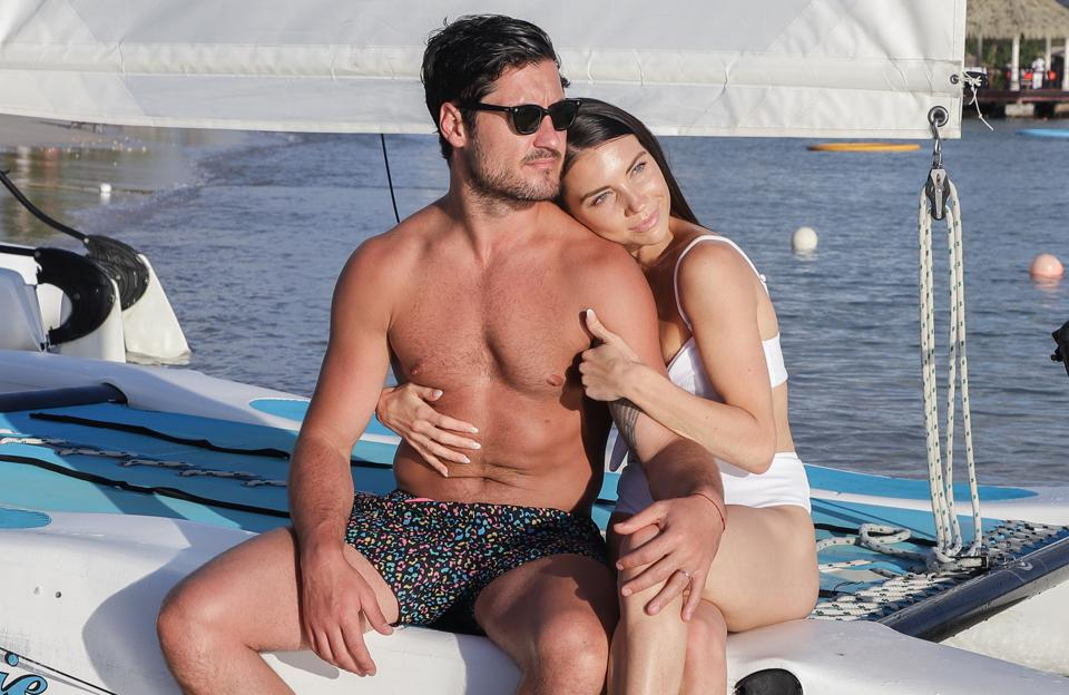 Dancing With The Stars Champions And Newlyweds Val Chmerkovskiy & Jenna Johnson Spend Their Honeymoon At The Luxurious Sandals Grande St. Lucian Resort
