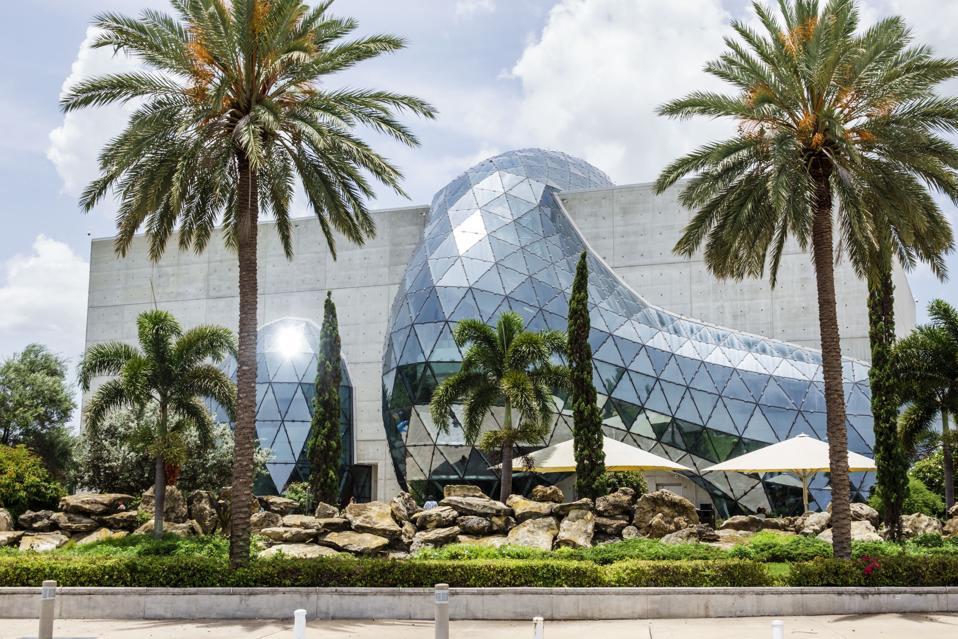 Florida, St. Petersburg, Salvador Dali Museum