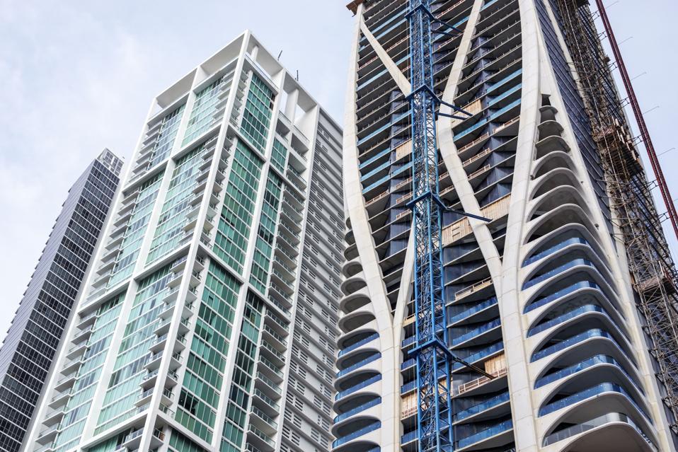 Miami, One Thousand Museum, construction by Architect Zaha Hadid