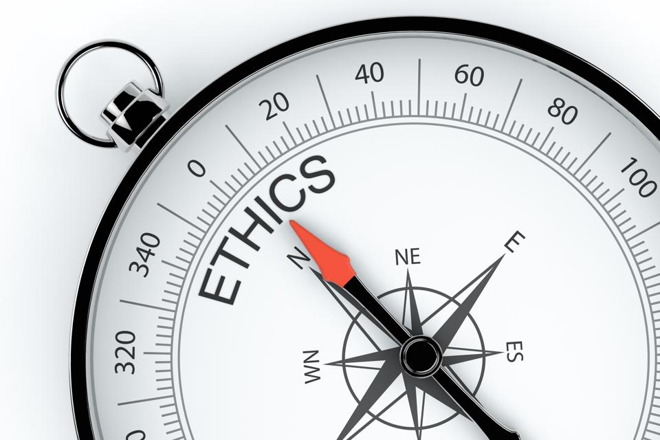 Compass Arrow Pointing to Ethics
