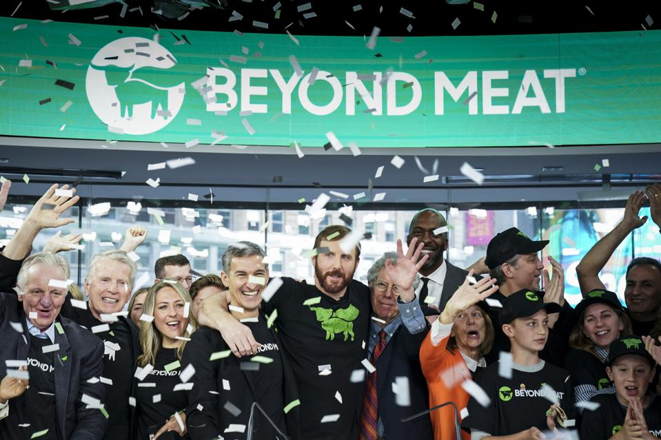 Meatless Burger Company Beyond Meat Goes Public On Nasdaq Exchange