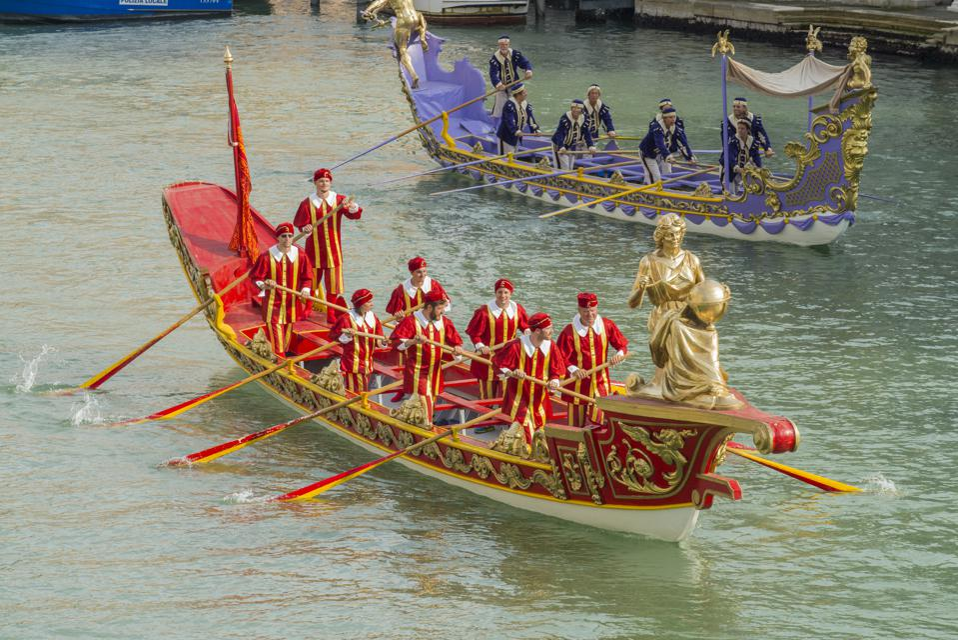 Historical Regatta ('Regata Storica') at Venice, Italy.