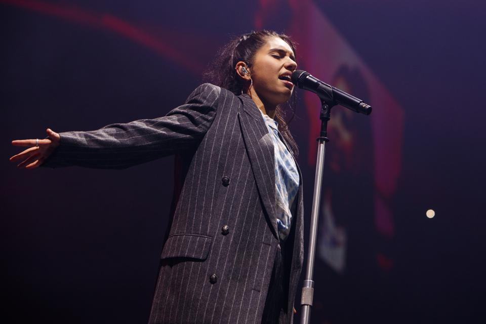 Alessia Cara Performs At The Manchester Arena