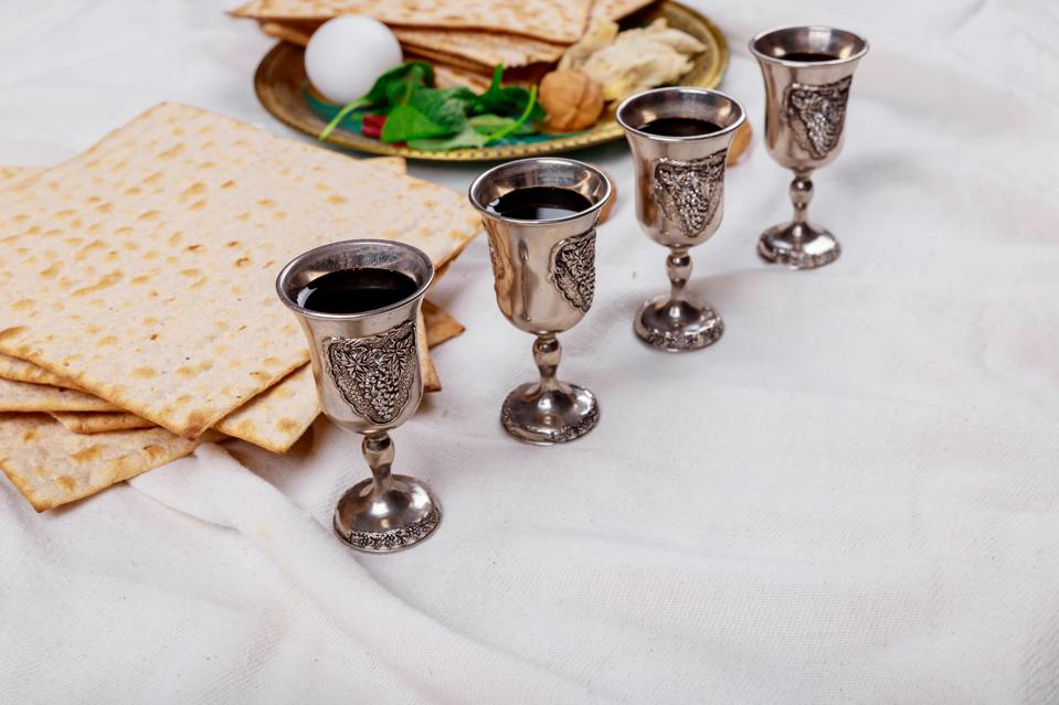 Wine is a big part of the traditional Passover celebration.