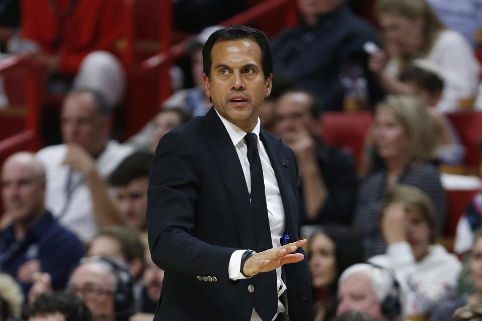 Erik Spoelstra Heat Reportedly Agree To Long Term Extension