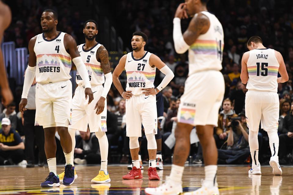 DENVER NUGGETS VS MINNESOTA TIMBERWOLVES, NBA