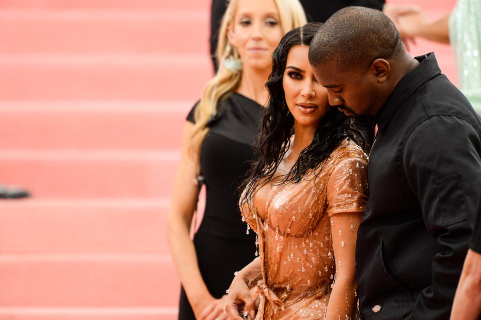 The 2019 Met Gala Celebrating Camp: Kim Kardashian and Kanye West