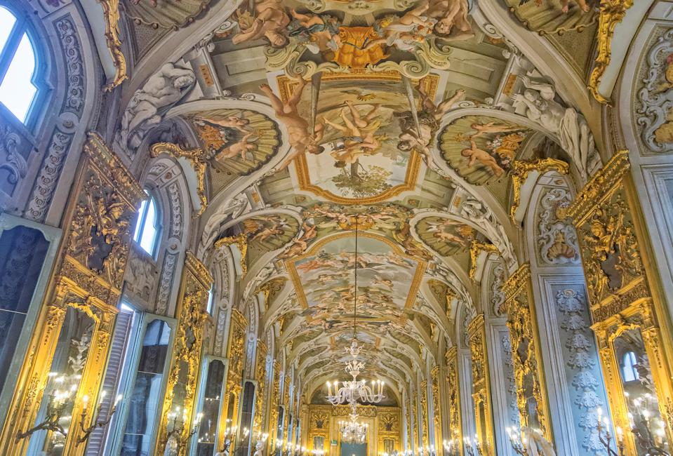 Palazzo Doria-Pamphilj gallery.Rome. Lazio. Italy. Europe Palazzo Doria-Pamphilj gallery.Rome. Lazio. Italy. Europe. (Photo by Giuseppe Greco/REDA&CO/Universal Images Group via Getty Images)