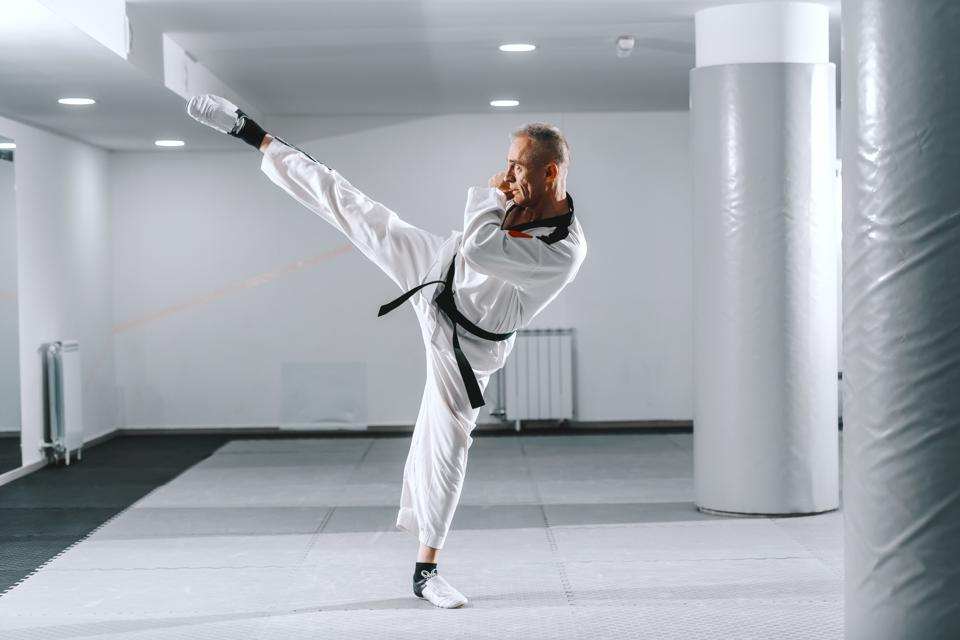 Martial arts, it's a challenge with yourself. You [are] always having to fight yourself to go to class, to push yourself in class, to go a little bit harder,