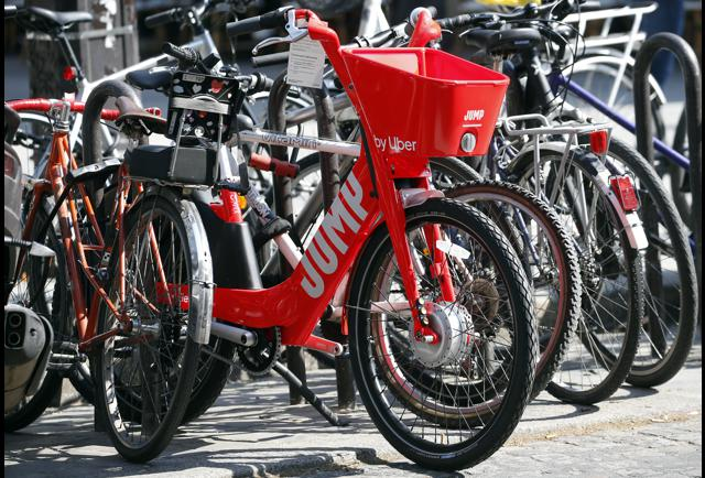 Uber Launches Electric 'Jump' Bikes In London, But No Scooters