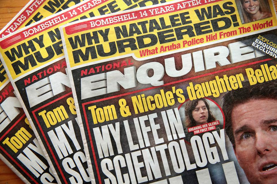 National Enquirer Put Up For Sale By Parent Company AMI