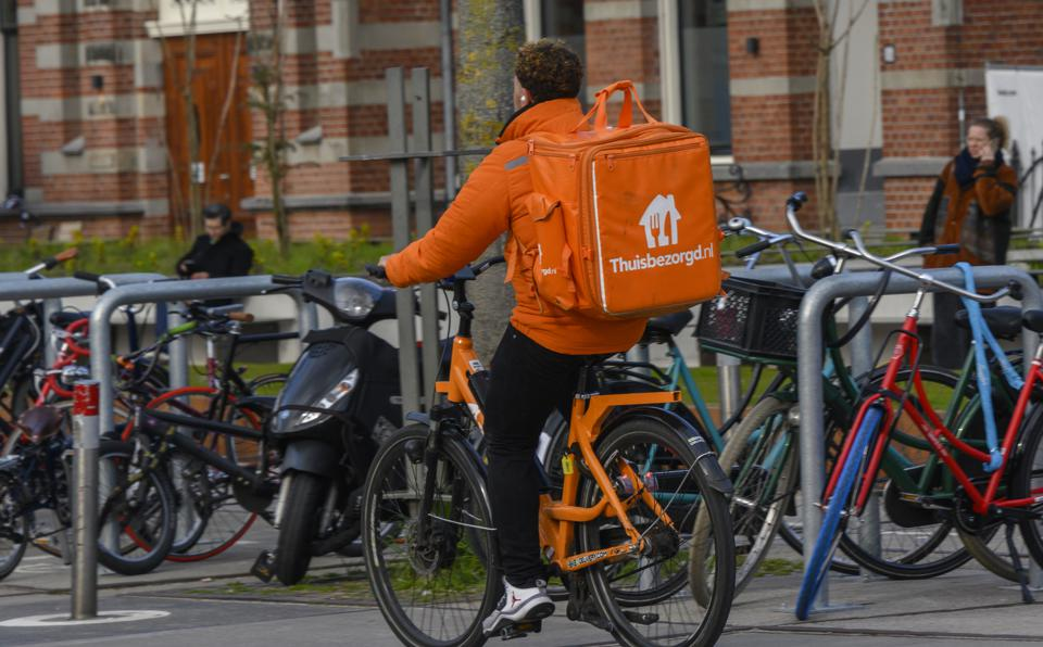 Deliver with Takeaway.com in Amsterdam