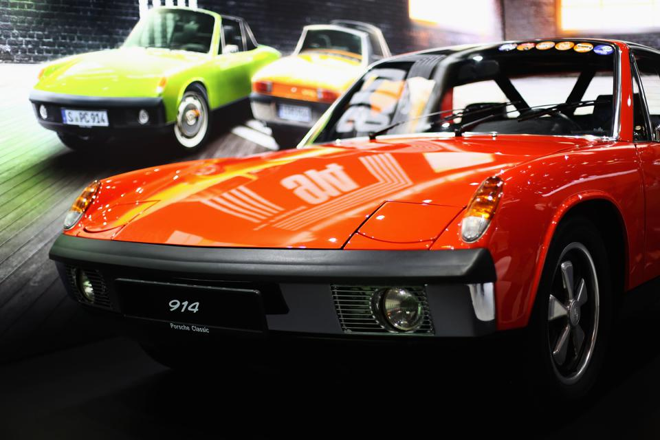 Older Porsches are popular items among collectors, and the angularly styled 914 is the cheapest way to get behind the wheel of a vintage model.