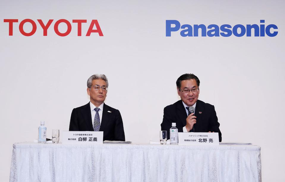 JAPAN-AUTOMOBILE-INDUSTRY-TOYOTA-PANASONIC