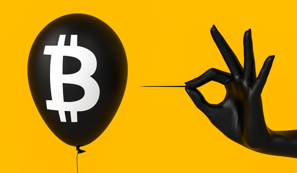 Fail bitcoin, bitcoin bubble burst, cryptocurrency crash