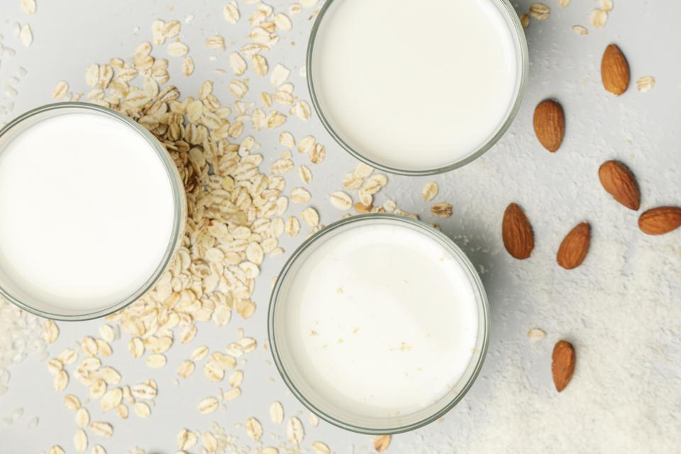 Non-dairy, plant-based milk.