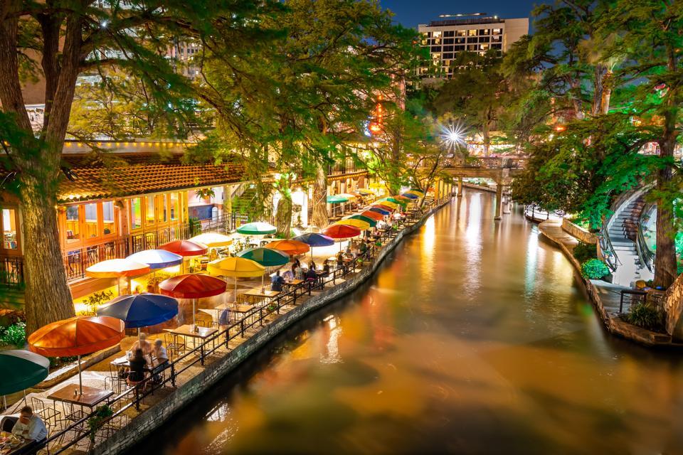 San Antonio Riverwalk in San Antonio, Texas