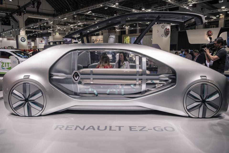 Renault autonomous car concept