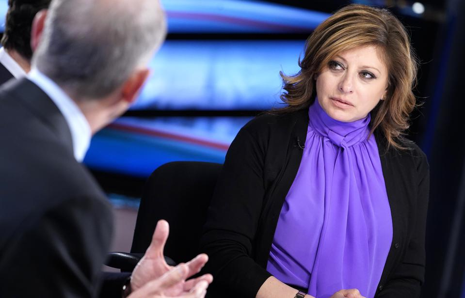 Eric Schmidt Visits ″Maria Bartiromo's Wall Street″