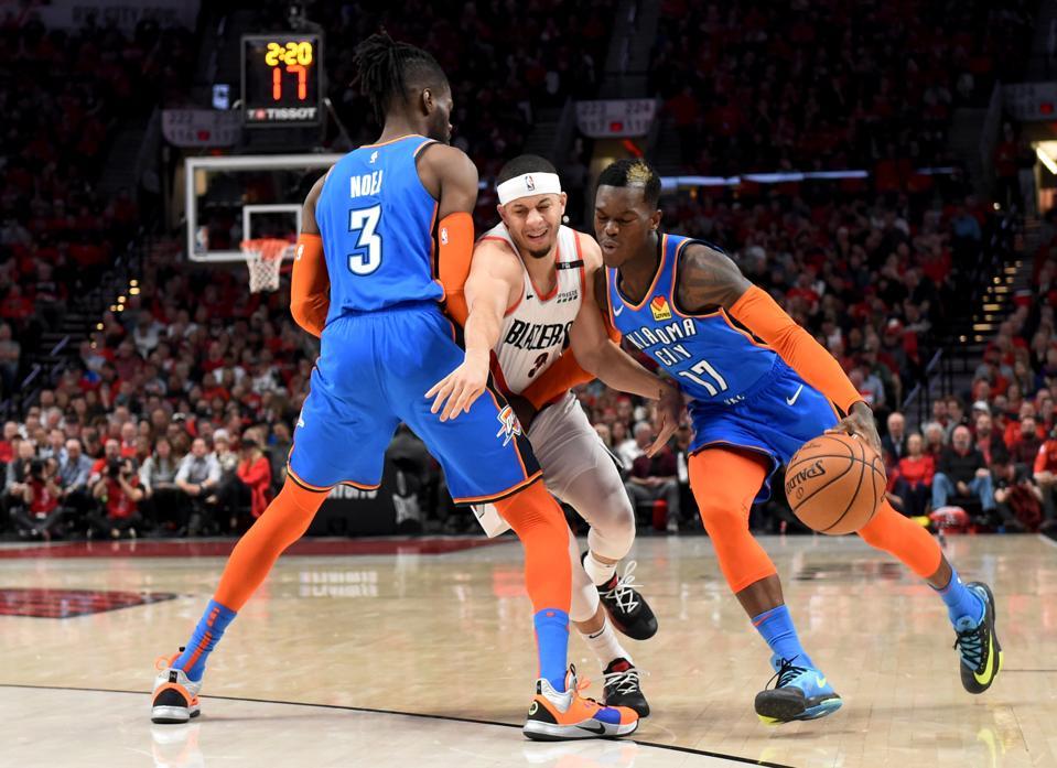 Oklahoma City Thunder v Portland Trail Blazers - Game Two