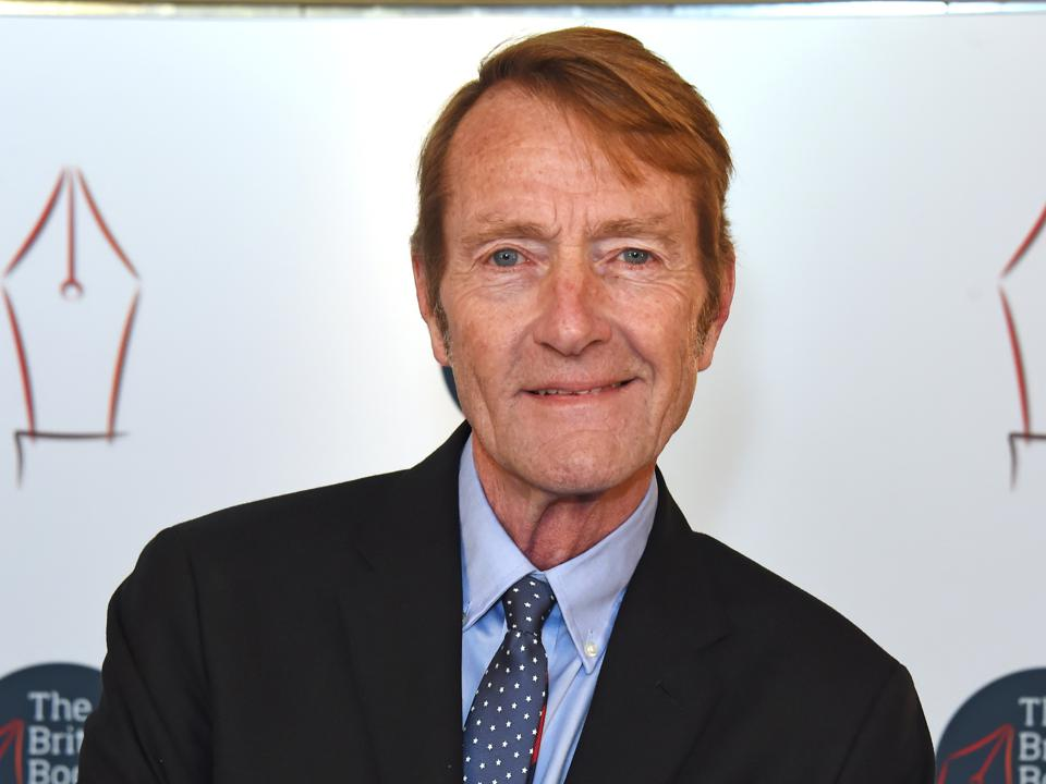Lee Child at the British Book Awards in 2019