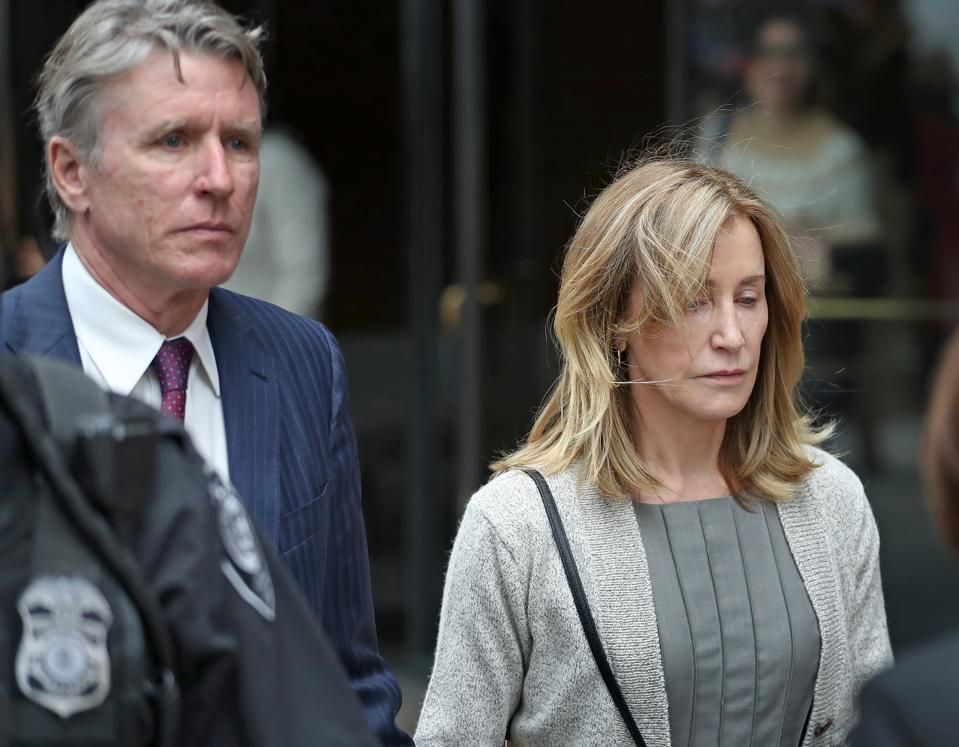 Felicity Huffman Formally Pleads Guilty In College Admissions Case