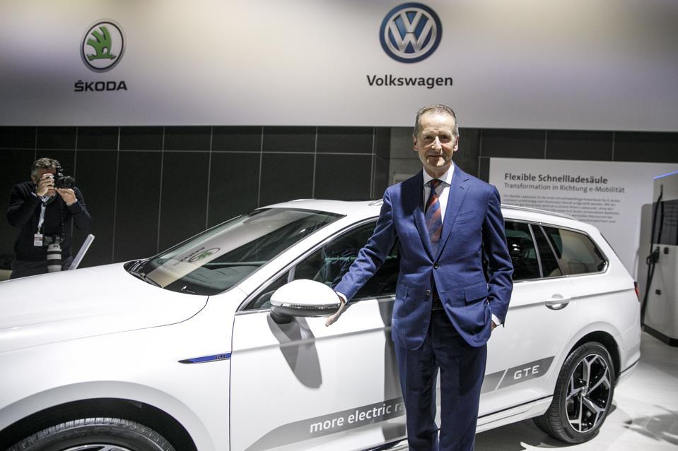 Volkswagen Holds Annual Shareholders' Meeting
