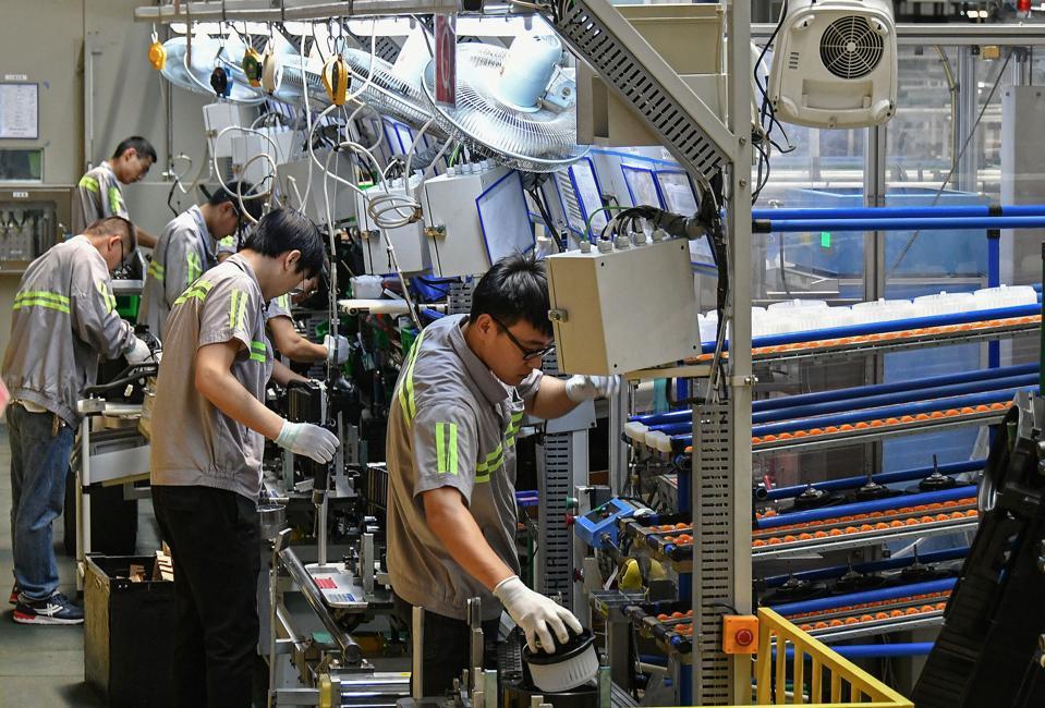 China automotive parts factory