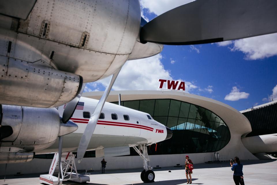 TWA Hotel Opens In JFK Airport's Iconic TWA Flight Center Building