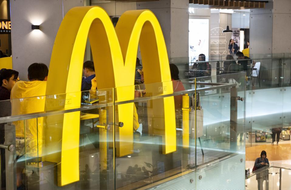 An American fast-food hamburger restaurant chain McDonald's...